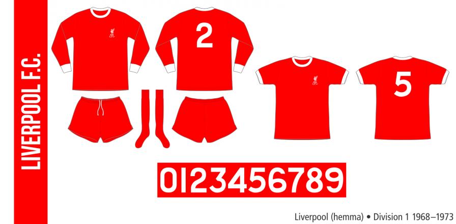 Liverpool 1968–1973 (hemma)