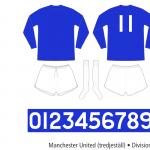 Manchester United 1964–1967 (tredjeställ)