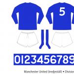 Manchester United 1967–1971 (tredjeställ)