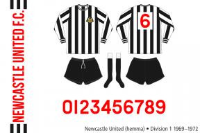 Newcastle United 1969–1972 (hemma)