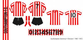 Southampton 1967–1972 (hemma)