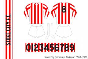 Stoke City 1968–1973 (hemma)