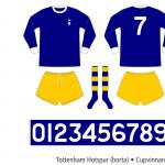 Tottenham Hotspur 1967/68 (Cupvinnarcupen, borta)