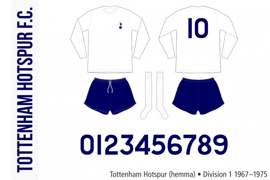 Tottenham Hotspur 1967–1975 (hemma)