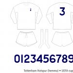 Tottenham Hotspur 1971–1974 (UEFA-cupen, hemma)