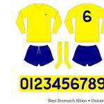 West Bromwich Albion 1969–1971 (borta)