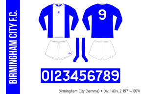 Birmingham City 1971–1974 (hemma)