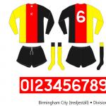 Birmingham City 1972–1974 (tredjeställ)
