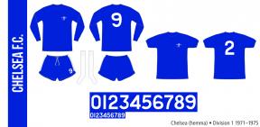 Chelsea 1971–1975 (hemma)