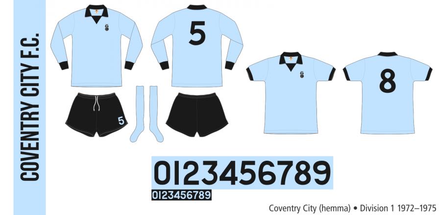 Coventry City 1972–1975 (hemma)