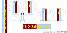 Crystal Palace 1972/73 (hemma)