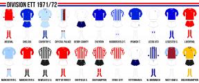 Engelska division ett 1971/72