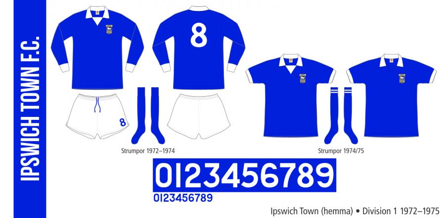 Ipswich- Town 1972–1975 (hemma)