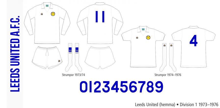 Leeds United 1973–1976 (hemma)