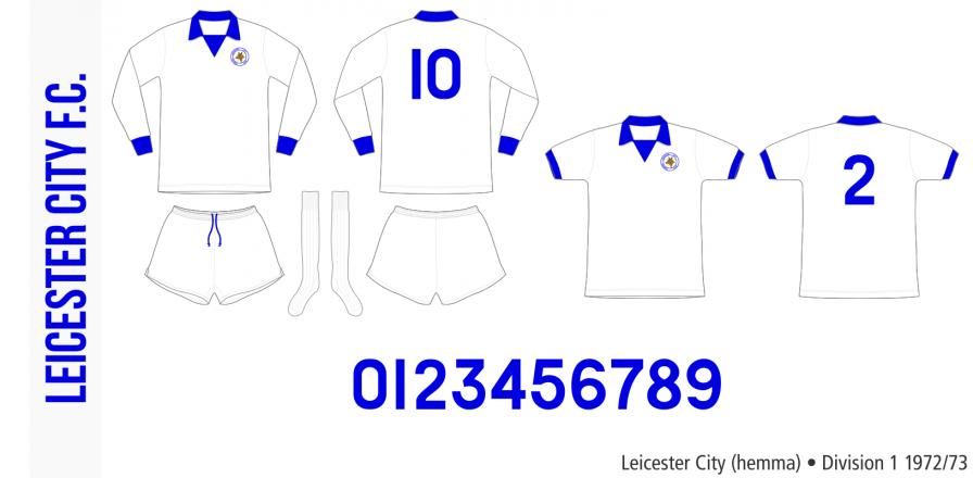 Leicester City 1972/73 (hemma)