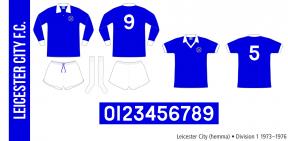 Leicester City 1973–1976 (hemma)