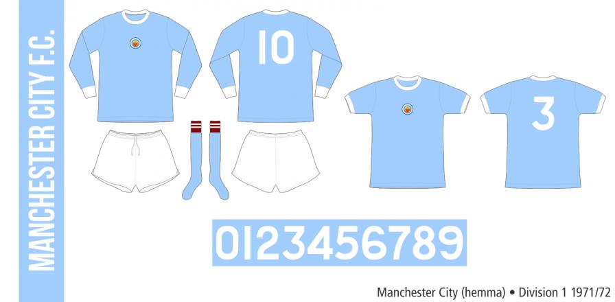 Manchester City 1971/72 (hemma)