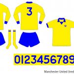 Manchester United 1972–1974 (tredjeställ)
