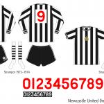 Newcastle United 1972–1975 (hemma)