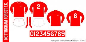 Nottingham Forest 1971/72 (hemma)