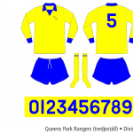 Queens Park Rangers 1973/74 (tredjeställ)