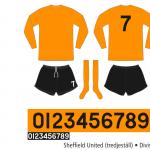 Sheffield United 1971/72 (tredjeställ)