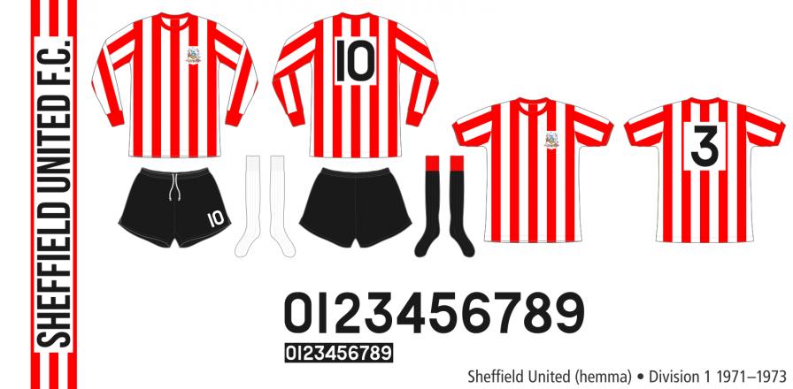 Sheffield United 1971–1973 (hemma)