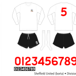 Sheffield United 1971–1973 (borta)