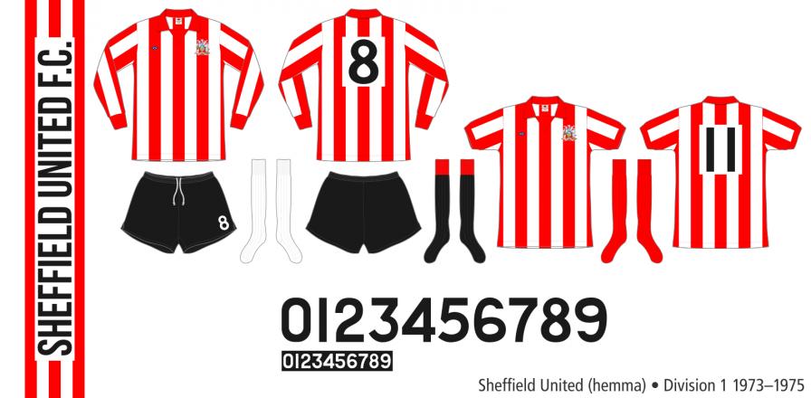 Sheffield United 1973–1975 (hemma)