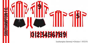 Southampton 1973/74 (hemma)