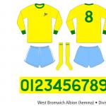 West Bromwich Albion 1971/72 (borta)