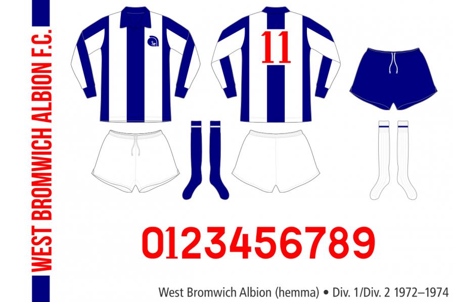 West Bromwich Albion 1972–1974 (hemma)