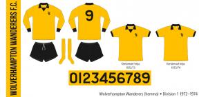 Wolverhampton Wanderers 1972–1974 (hemma)