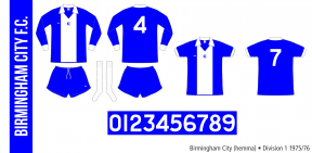 Birmingham City 1975/76 (hemma)