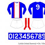 Carlisle United 1973–1976 (hemma)