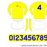Carlisle United 1973–1976 (borta)