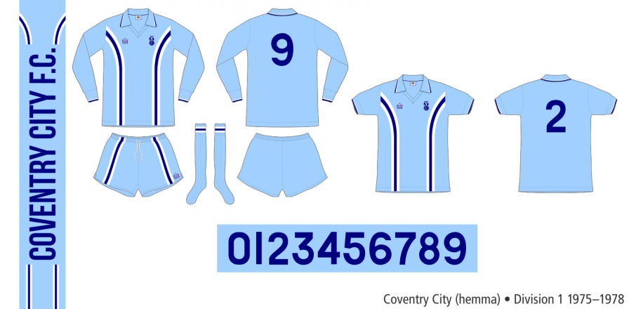 Coventry City 1975–1978 (hemma)