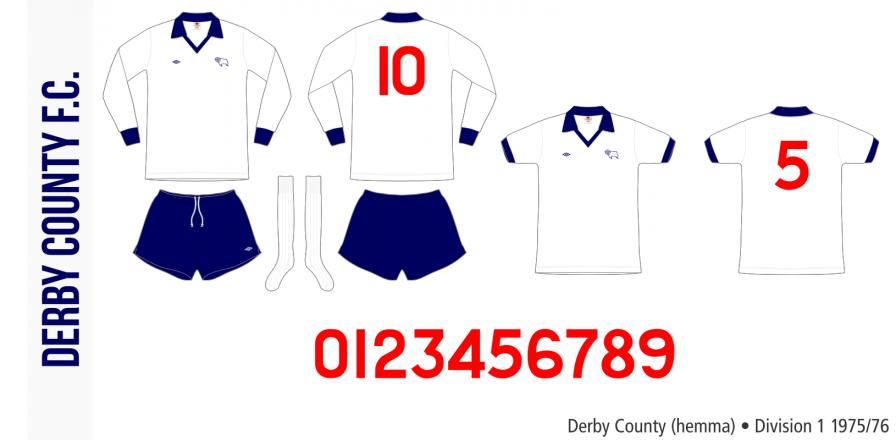 Derby County 1975/76 (hemma)