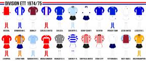 Engelska division ett 1974/75