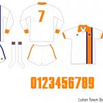 Luton Town 1974–1976 (borta)