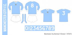 Manchester City 1974/75 (hemma)