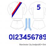 Manchester City 1974/75 (tredjeställ)