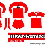 Middlesbrough 1973–1975 (hemma)