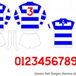 Queens Park Rangers 1974/75 (hemma våren 1975)