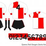 Queens Park Rangers 1974/75 (borta hösten 1974)