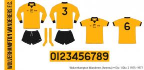 Wolverhampton Wanderers 1975–1977 (hemma)