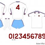 Aston Villa 1976–1980 (borta)