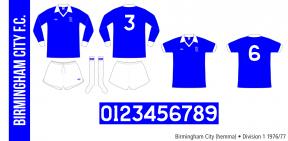 Birmingham City 1976/77 (hemma)