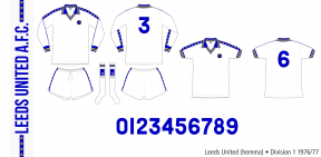 Leeds United 1976/77 (hemma)