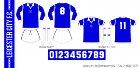 Leicester City 1976–1979 (hemma)